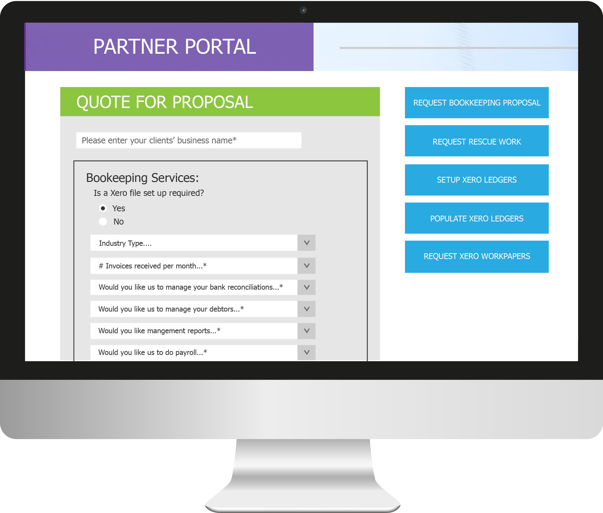generate your own fixed fee proposal online to manage your clients bookkeeping thus reducing the time spent addressing your clients bookkeeping bookkeeping proposal