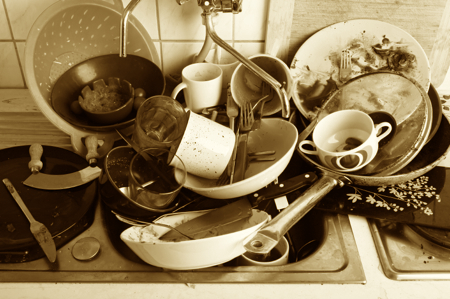 Does your business have its 'dirty dishes' piling up?